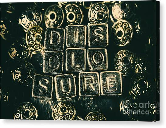 Aliens Canvas Print - Learning Blocks Of Disclosure by Jorgo Photography - Wall Art Gallery