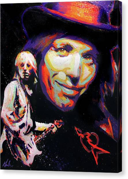 Tom Petty Canvas Print - Learning To Fly - A Tribute To Tom Petty by Steve Gamba