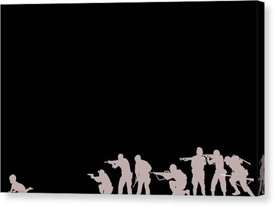 Leave No Child Behind Canvas Print by Yannick Pigois Braunschweig