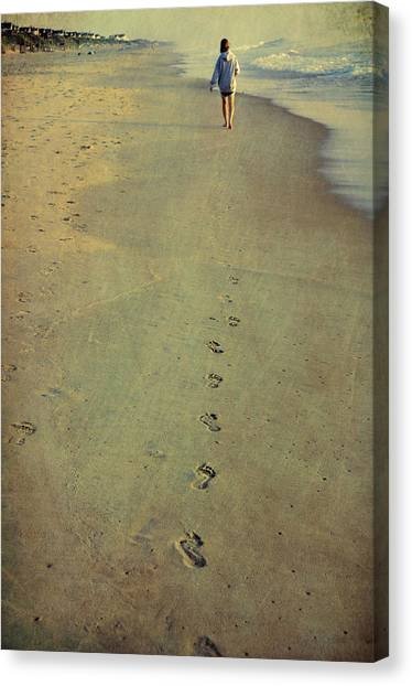 Leave Your Mark Canvas Print by JAMART Photography