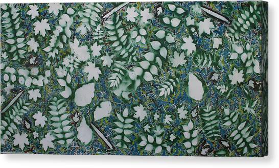Leaves And Knives Canvas Print by Biagio Civale