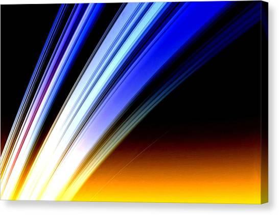 Leaving Saturn Canvas Print