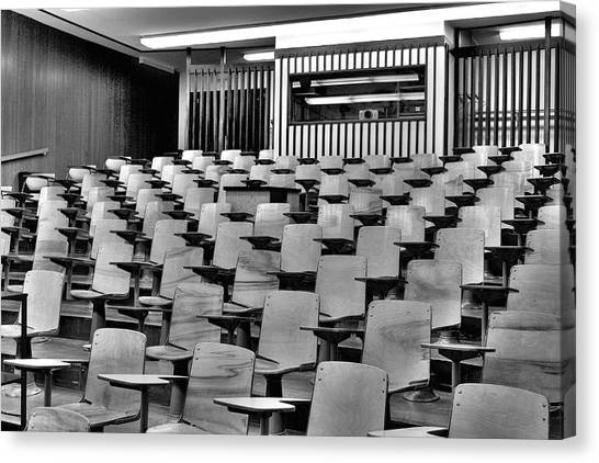 Lecture Hall At Ubc Canvas Print