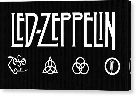 Robert Plant Canvas Print - Led Zeppelin 2 by Daniel Hagerman