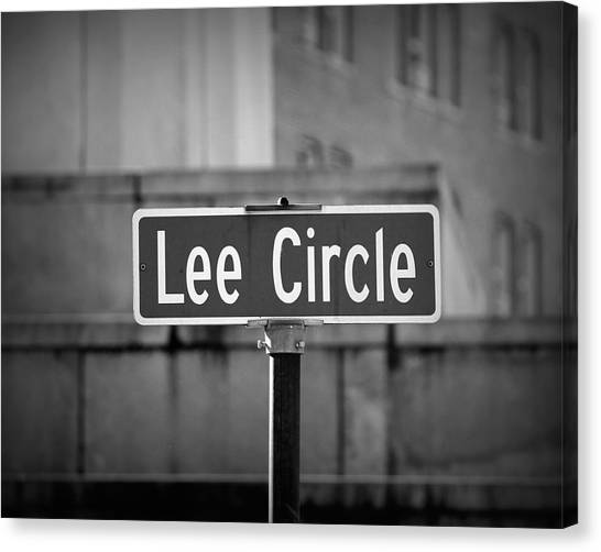Lee Circle Canvas Print