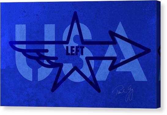 Left Wing Canvas Print by Paul Gaj