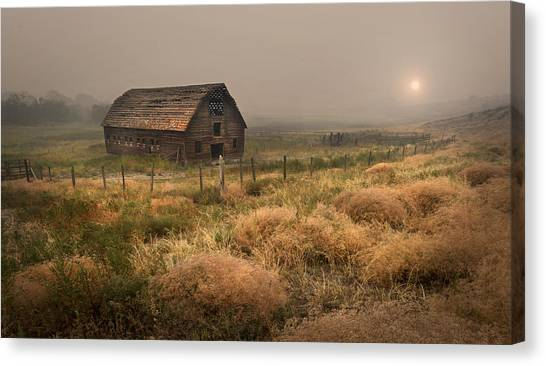 Legacy - Haynes Ranch Barn Canvas Print