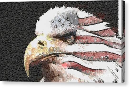 Legally Unlimited Eagle Canvas Print