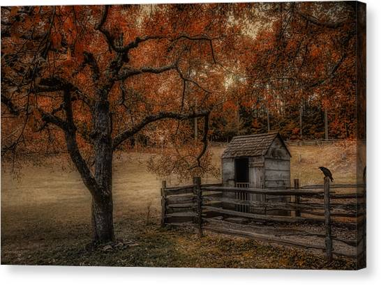 Legend Of The Fall Canvas Print