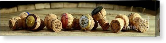 Wine Barrels Canvas Print - Legends by Jon Neidert