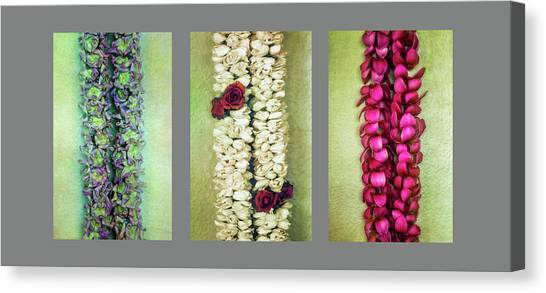 Lei Trio Canvas Print