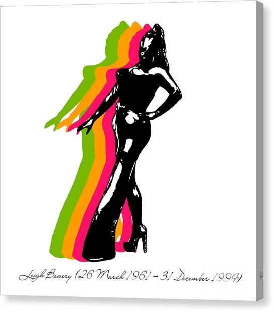 Warhol Canvas Print - Leigh Bowery 5 by Mark Ashkenazi