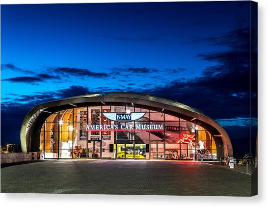 Lemay Car Museum - Night 2 Canvas Print