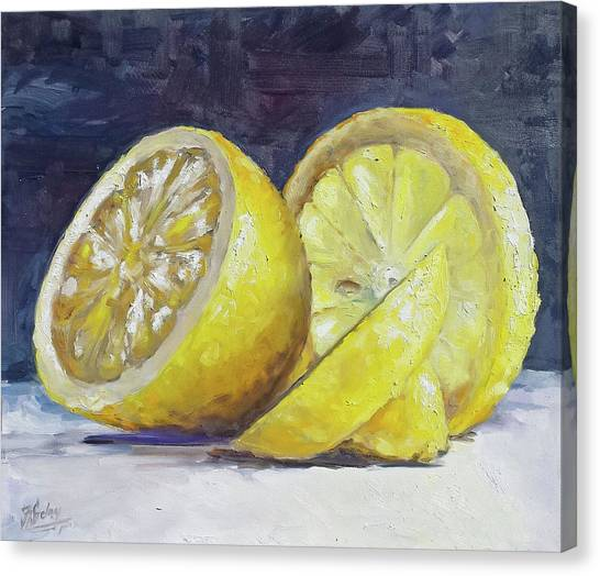 Canvas Print - Lemon by Irek Szelag