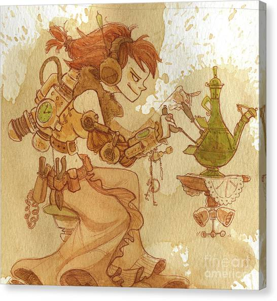 Lemongrass Canvas Print by Brian Kesinger