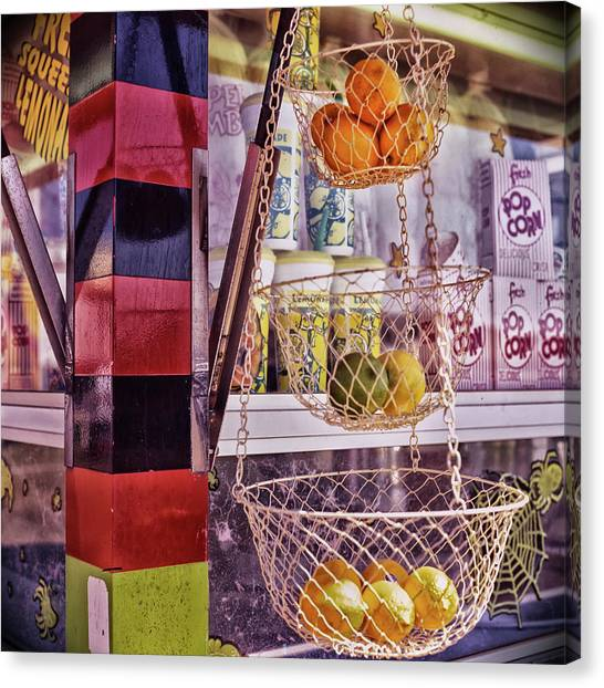 Canvas Print featuring the photograph Lemons, Oranges And Limes by Samuel M Purvis III