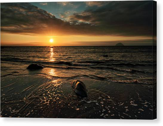 Lendalfoot Sunset Canvas Print