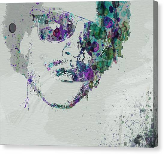 Rhythm And Blues Canvas Print - Lenny Kravitz by Naxart Studio