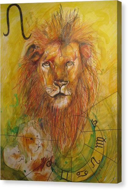 Fineart Canvas Print - LEO by Brigitte Hintner