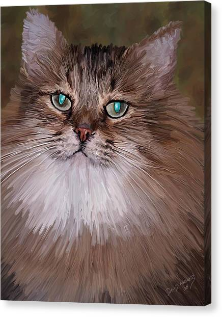 Leo Canvas Print by David Wagner