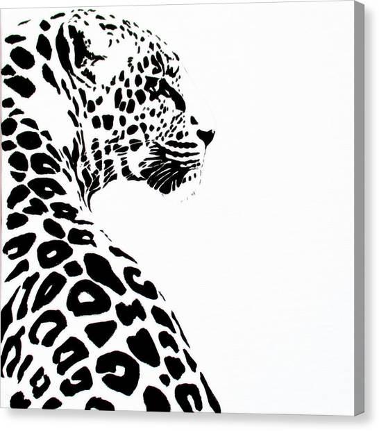 Leo-pard Canvas Print