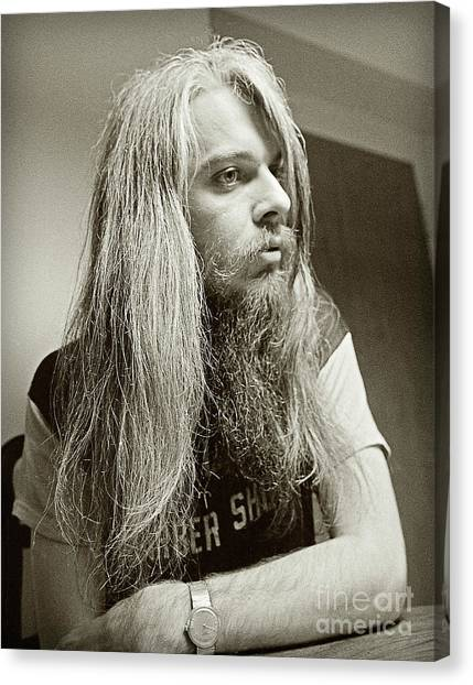 Leon Russell 1970 Canvas Print