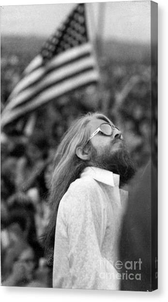 Leon Russell Canvas Print - Leon Russell-the Master Of Space And Time by Stephen Crane