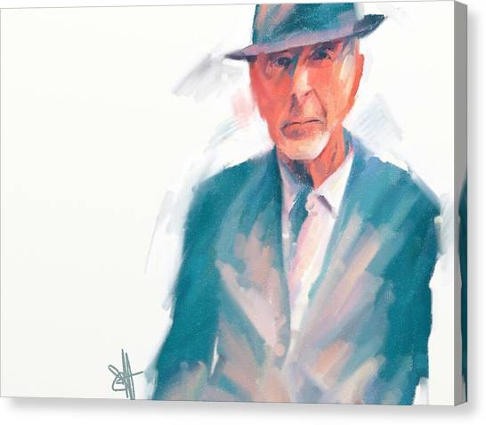Leonard Canvas Print by Scott Waters