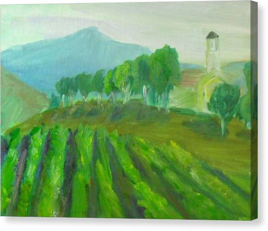 Leonesse Cellars Home On The Hill Canvas Print