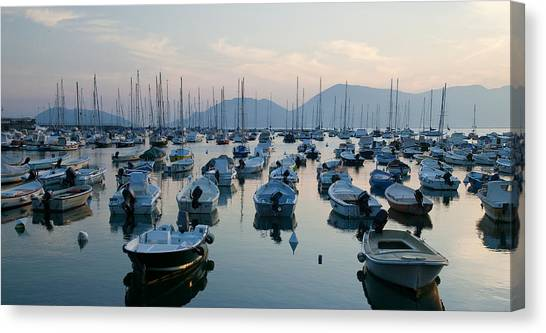 Lerici Marina Canvas Print by Neil Buchan-Grant