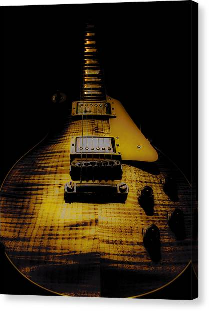 1958 Reissue Guitar Spotlight Series Canvas Print