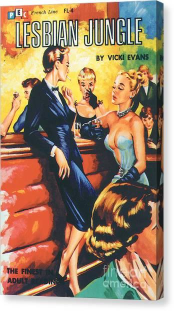 Lesbian Jungle Canvas Print