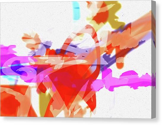 Less Form Canvas Print