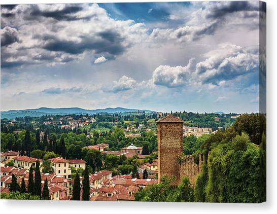 Let Me Travel To Another Era Canvas Print