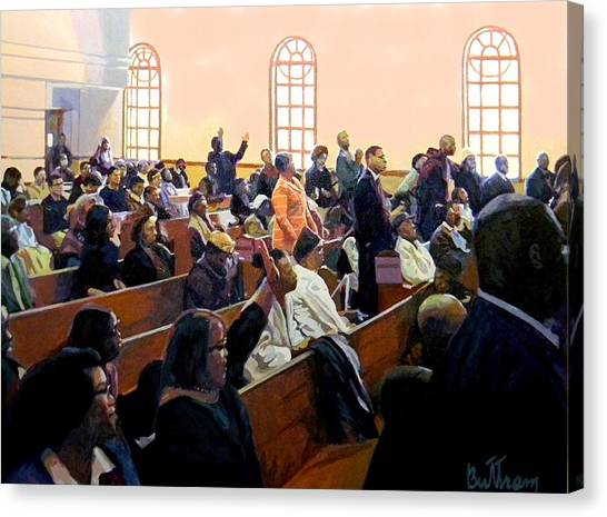 Canvas Print - Forsake Not The Assembling Of Ourselves... by David Buttram
