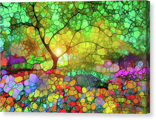 Let This Light Bring You Home Canvas Print