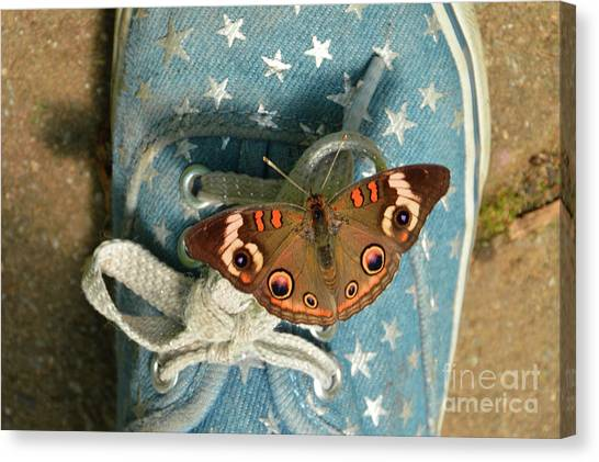 Let Your Spirit Fly Free- Butterfly Nature Art Canvas Print
