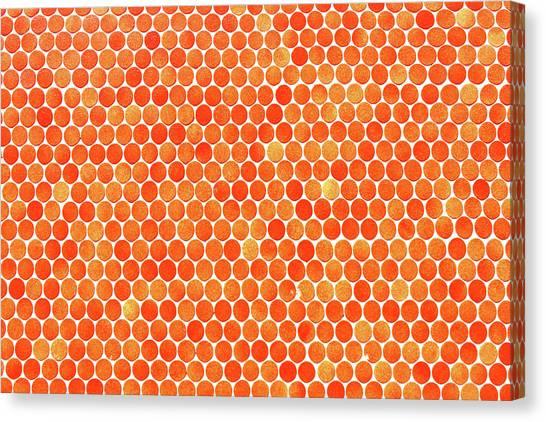 Let's Polka Dot Canvas Print