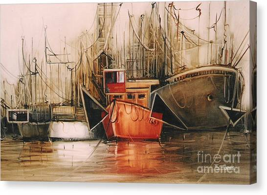 Let's Travel.... Canvas Print by Fatima Stamato