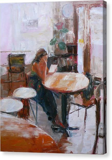 Letter Canvas Print by Irena  Jablonski
