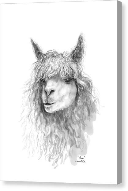 Canvas Print - Lexi by K Llamas