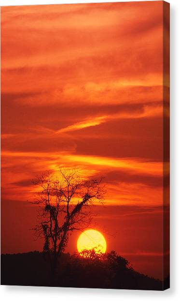 Lexington Sunset Canvas Print