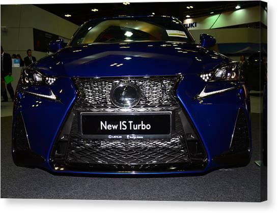 Lexus Is Turbo Canvas Print
