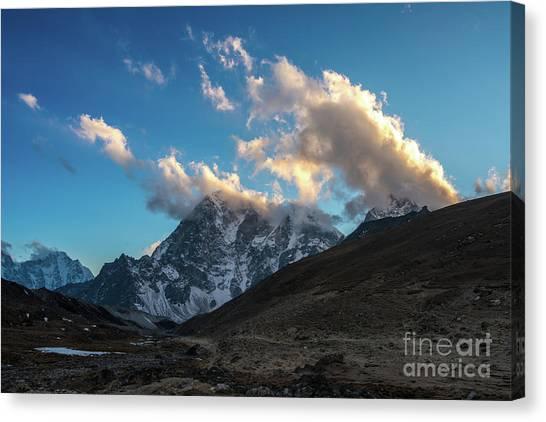 K2 Canvas Print - Lhotse Cloudscape by Mike Reid