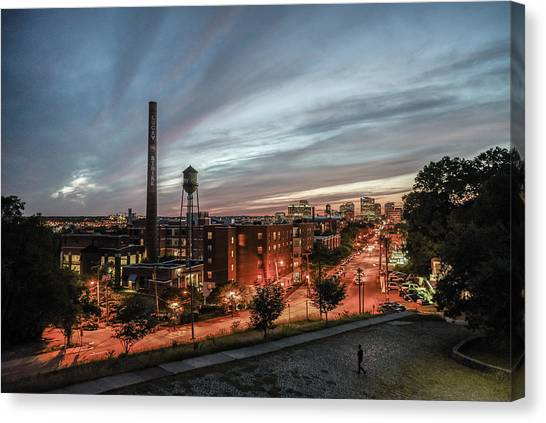 Libby Hill Post Sunset Canvas Print