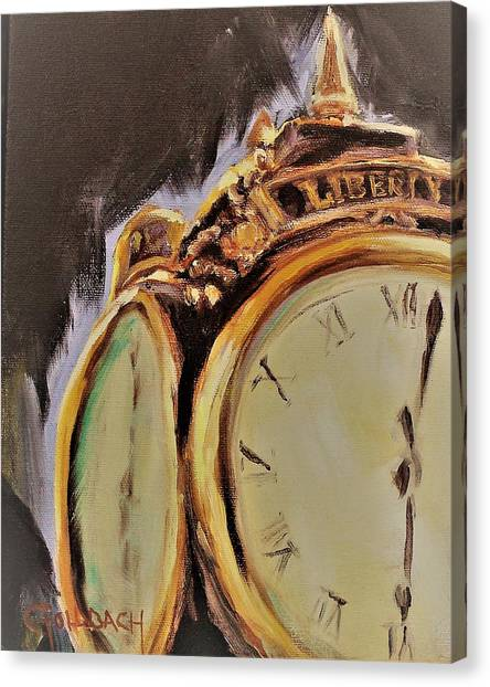Liberty I Zeke Canvas Print