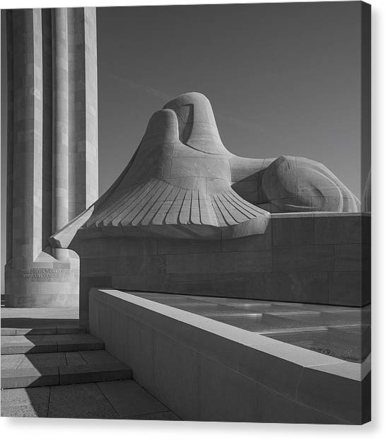 Liberty Memorial Kansas City Missouri Canvas Print