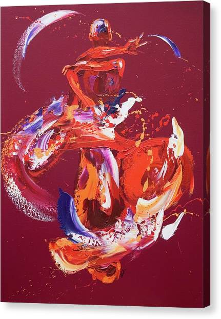 Kinetic Canvas Print - Liberty by Penny Warden