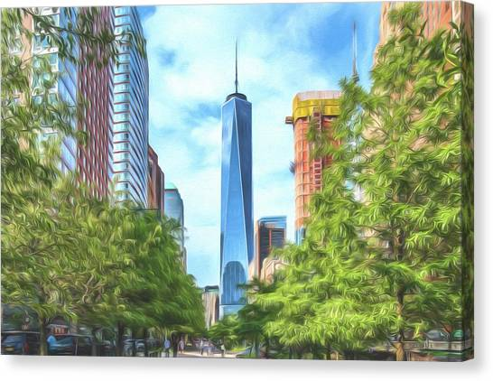 Liberty Tower Canvas Print
