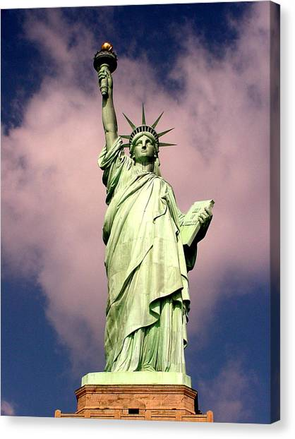 Liberty V01 Canvas Print